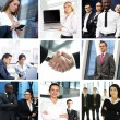 Business collage made of many different pictures — Stock Photo #15364603