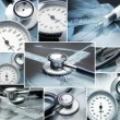 Royalty-Free Stock Photo: Collage made of medical elements