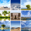 图库照片: Resort collage