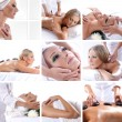 Collage about beauty, spa and health care — Stock Photo #15365353