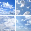 Stock Photo: Some pictures of sky