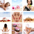 Royalty-Free Stock Photo: Beautiful spa collage made of many elements