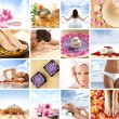Beautiful spa collage made of many elements — Stock Photo #15365411