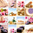 Spa collage — Stockfoto #15365517