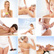 Spa collage made of many different elements — Stock Photo #15365537
