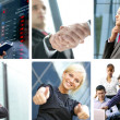 Business collage — Stock Photo #15365789