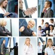 Business collage — Stock Photo #15365805