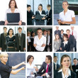 Business collage — Stock Photo #15365815
