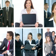 Business collage — Stock Photo #15365821