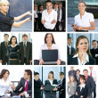 Business collage — Stock Photo #15365827