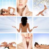 Healthcare collage — Stock Photo