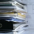 Stock Photo: Documents in office