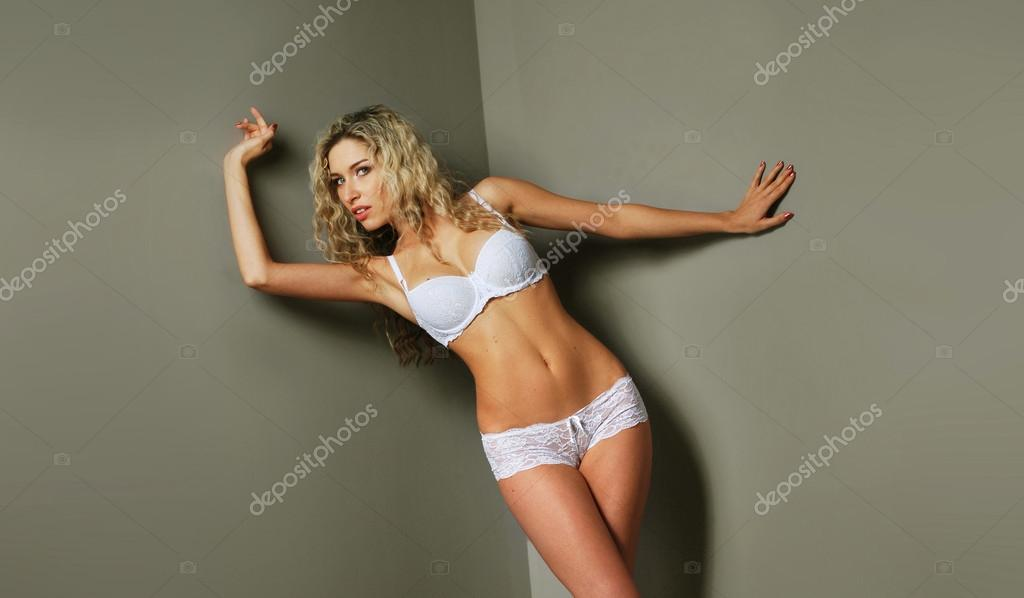 Picture of young attractive woman — Stok fotoğraf #15380831