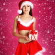 Young sexy Santa — Stock Photo #15390399