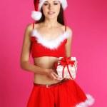 Young sexy Santa — Stock Photo #15390415