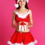 Young sexy Santa — Stock Photo #15390435