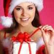 Royalty-Free Stock Photo: Young sexy Santa