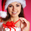 Young sexy Santa — Stock Photo #15391637