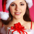 Young sexy Santa — Stock Photo #15391899