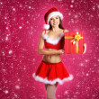 Young sexy Santa — Stock Photo #15391927