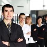 Business group portrait — Stock Photo #15399049