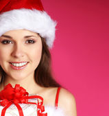 Young sexy Santa — Stock Photo