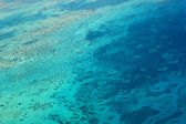 Aerial view of the Red Sea — Stock Photo