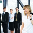 Business group portrait — Stock Photo #15401905