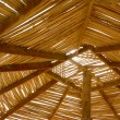 Roof of hut — Stock Photo