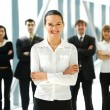 Business group portrait — Stock Photo