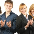 Group of young business — Foto Stock