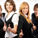 集团的年轻商业 — 图库照片