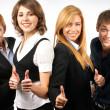 gruppo di giovani imprenditori — Foto Stock