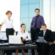 Business group of many different in office at work — Stock Photo #15437119
