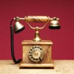 Ретро телефон — Стоковое фото
