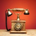 Vintage telephone — Stock Photo