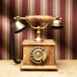Vintage telephone — Stock Photo #15437449