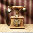 Vintage telephone — Stock Photo #15437453