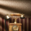 Vintage telephone — Stock Photo