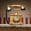 Vintage telephone  — Foto Stock