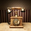 Vintage telephone — Stockfoto #15437467