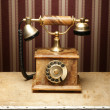 Vintage telephone — Stock Photo #15437469