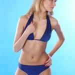 Blond in bikini — Stock Photo