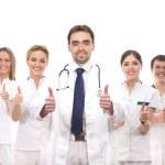 genç ve akıllı tıbbi işçi ekibi — Stok fotoğraf