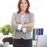 ženy v úřadu — Stock fotografie