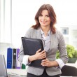 Business woman in office — Stock Photo #15519829