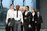 International business team — Stock Photo