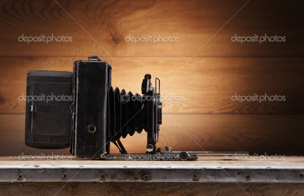 Ancient photo camera   Stock Photo #15517703