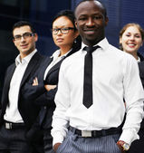 International business team — Stock Photo