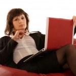 Portrait of businesswoman — Stock Photo